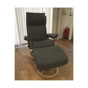 Stressless Aura (M) Chair & Stool
